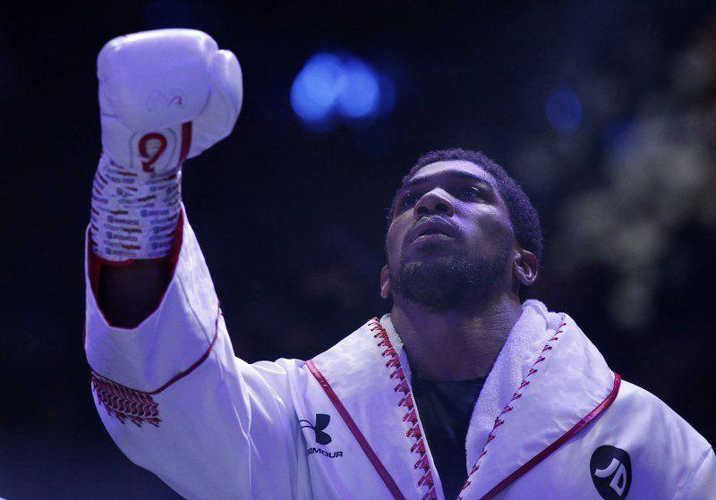 Anthony Joshua yeniden şampiyon! - Sayfa:1
