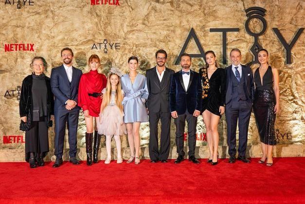 Netflix dizisi Atiye'ye görkemli gala! - Sayfa:1