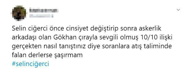 Selin Ciğerci ve Gökhan Çıra askerlik arkadaşı mı? - Sayfa:2
