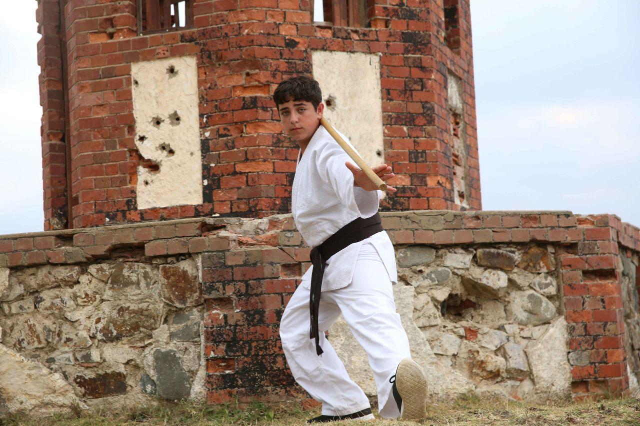 Gamonya için aikido eğitimi aldı! - Sayfa:1