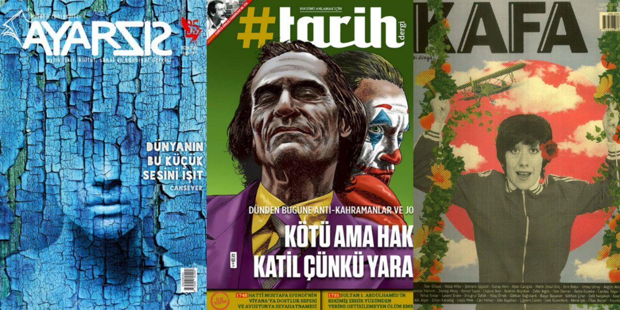 2019'un en iyi 10 dergi kapağı! - Sayfa:1