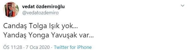 Vedat Özdemiroğlu ve Candaş Tolga Işık Twitter'da kapıştı! - Sayfa:4