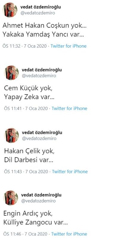 Vedat Özdemiroğlu ve Candaş Tolga Işık Twitter'da kapıştı! - Sayfa:3