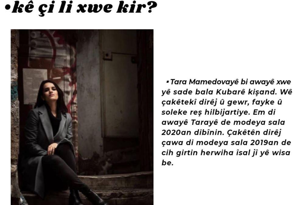 Kürtçe moda dergisi Kubar yayın hayatına başladı - Sayfa:4