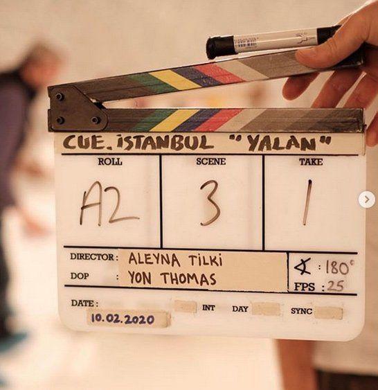 'Yönetmen' Aleyna Tilki'den kulis paylaşımı - Sayfa:2