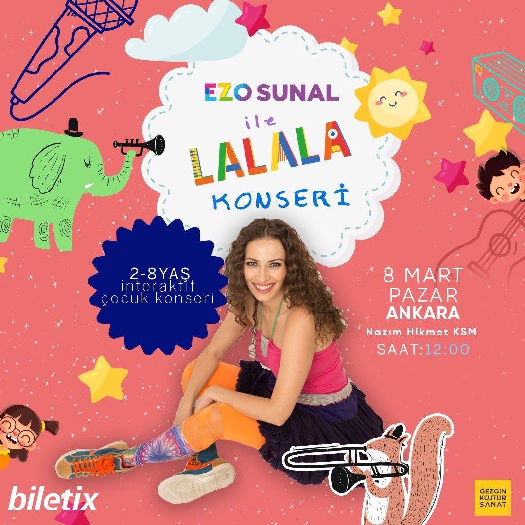 Ezo Sunal ile 'Lalala' konseri İzmir ve Ankara'da - Sayfa:2