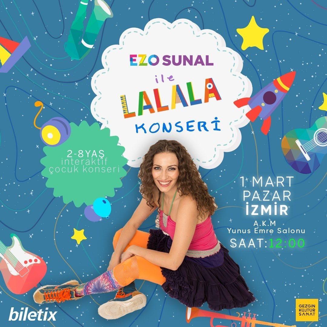 Ezo Sunal ile 'Lalala' konseri İzmir ve Ankara'da - Sayfa:3