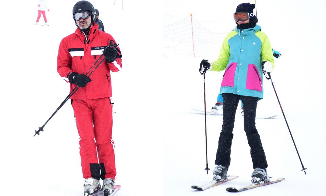 Berrak Tüzünataç ve Berk Suyabatmaz'ın kayak keyfi - Sayfa:1
