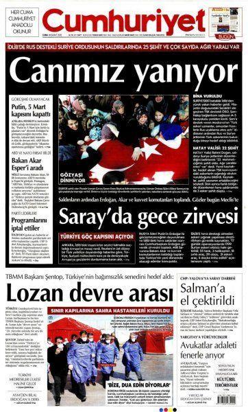 Gazeteler İdlib'deki hain saldırıyı nasıl gördü? - Sayfa:2
