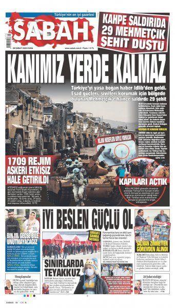 Gazeteler İdlib'deki hain saldırıyı nasıl gördü? - Sayfa:3
