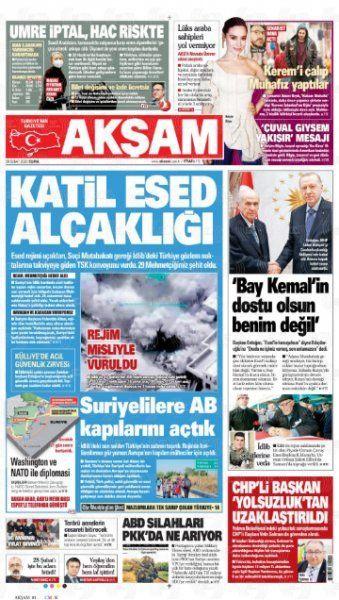 Gazeteler İdlib'deki hain saldırıyı nasıl gördü? - Sayfa:4