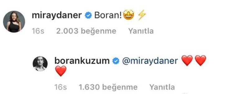 Miray Daner ve Boran Kuzum aşk mı yaşıyor? - Sayfa:4