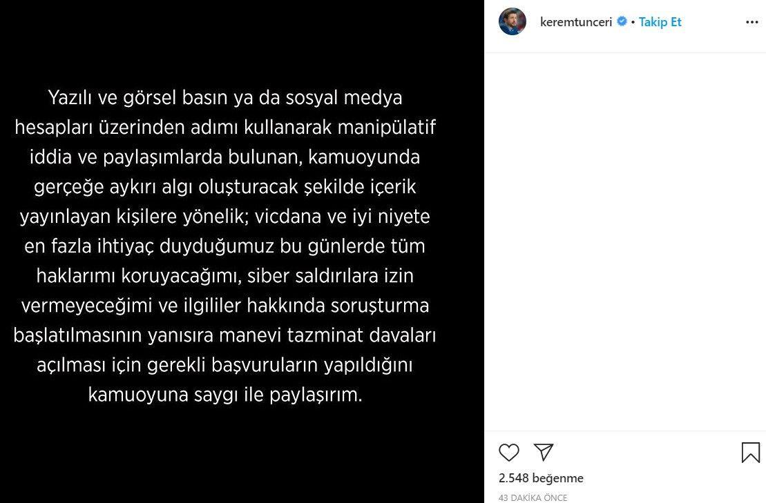 Kerem Tunçeri'den çok sert ifşa açıklaması! - Sayfa:2