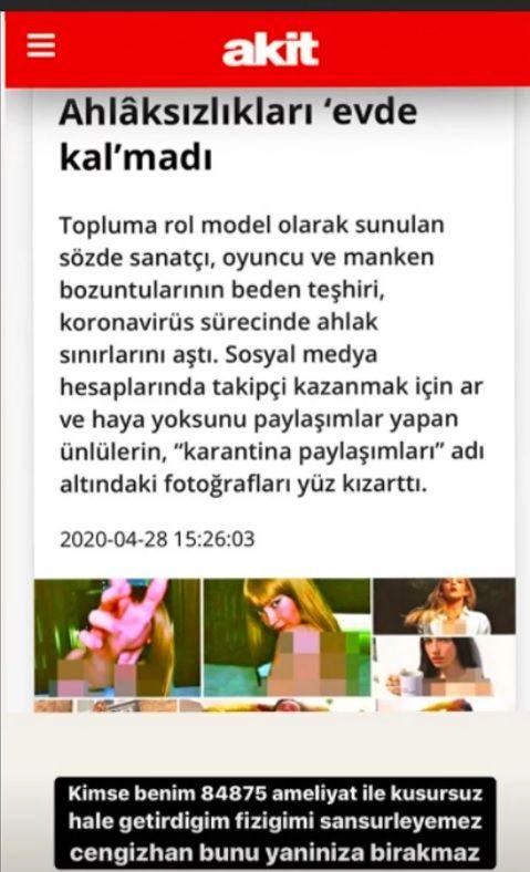Yeni Akit'in sansürlü haberine Danla Bilic'ten olay cevap - Sayfa:4