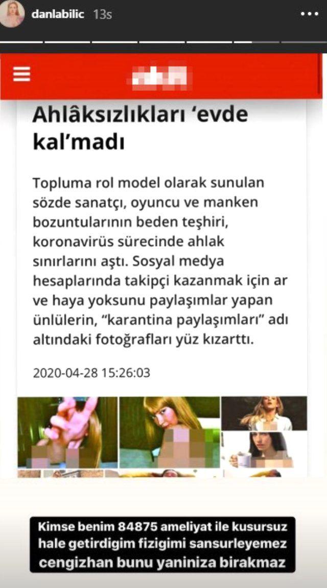 Yeni Akit'in sansürlü haberine Danla Bilic'ten olay cevap - Sayfa:3
