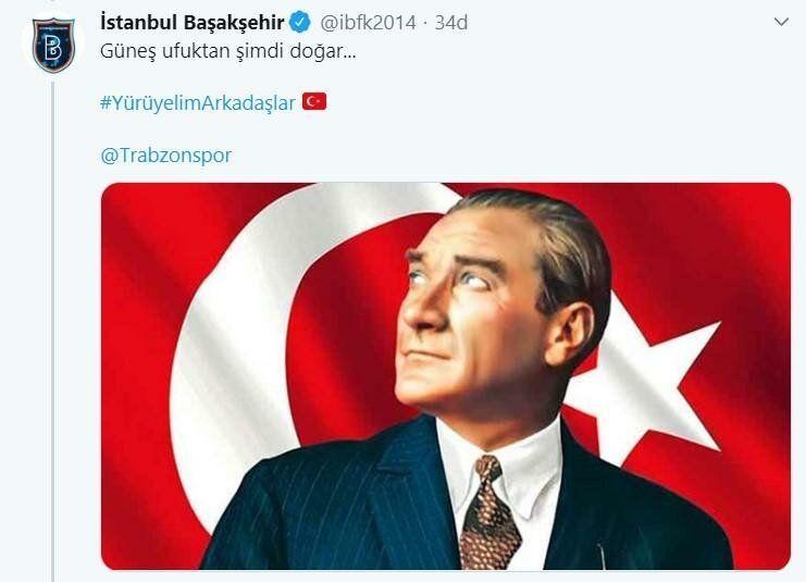 Süper Lig ekiplerinden çok özel 19 Mayıs kutlaması! Galatasaray dahil edilmedi... - Sayfa:4
