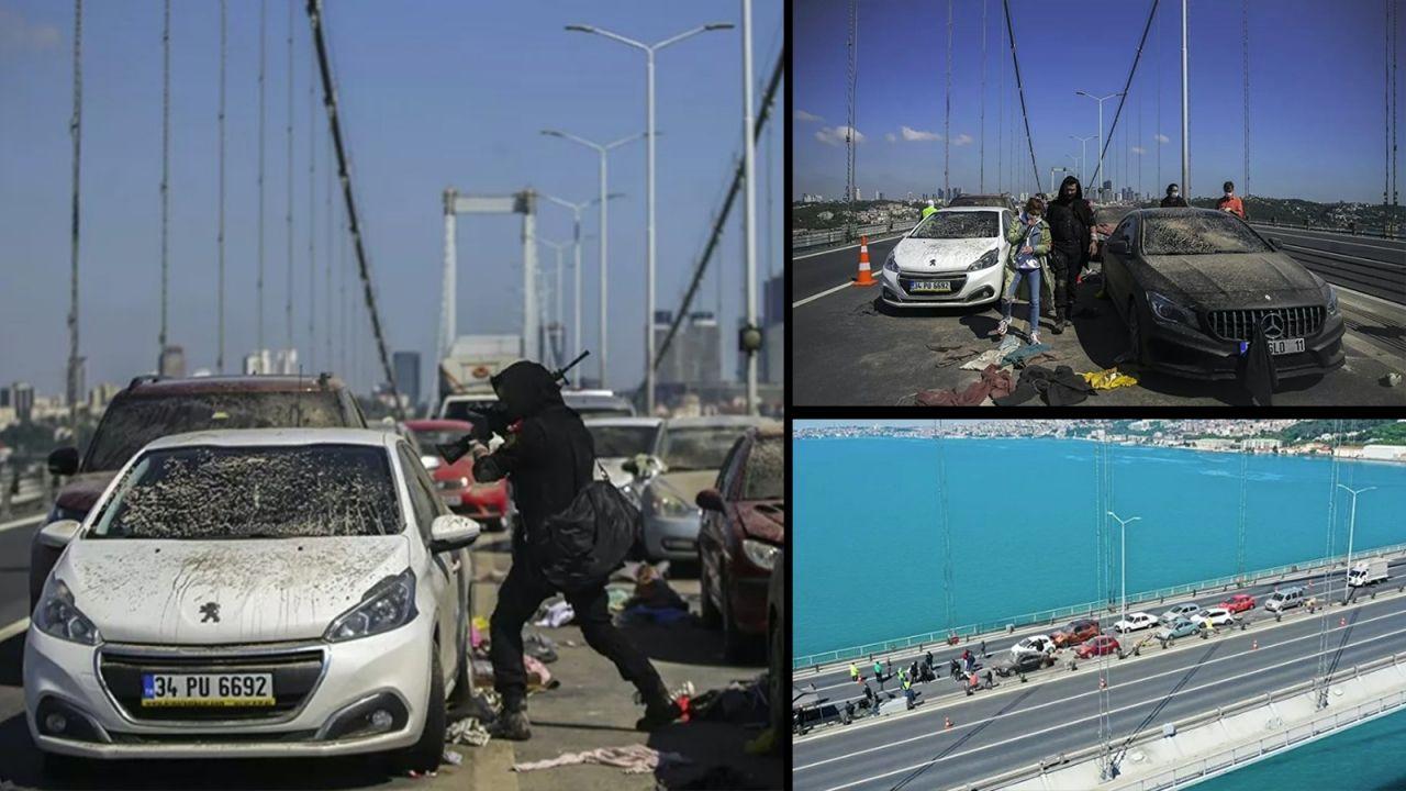15 Temmuz Şehitler Köprüsü'nde hareketli dakikalar - Sayfa:1