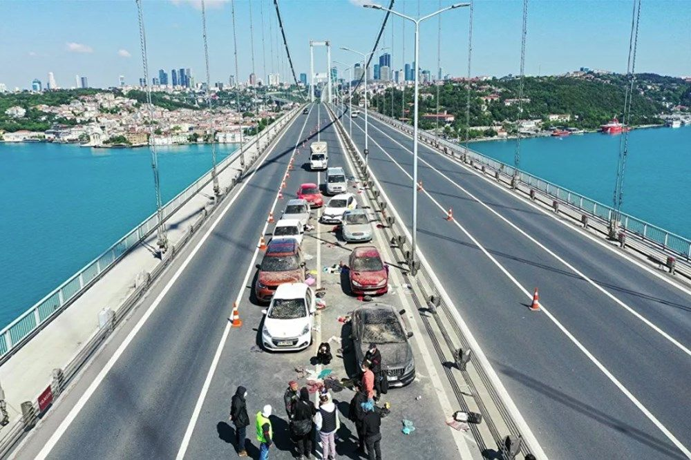 15 Temmuz Şehitler Köprüsü'nde hareketli dakikalar - Sayfa:2