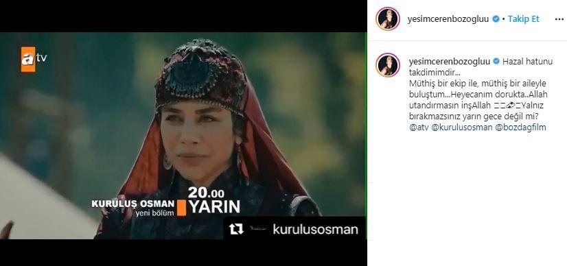 Kuruluş Osman'a yeni oyuncu! Hazal Hatun kimdir? - Sayfa:3