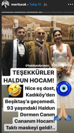 Oyuncu Mert Turak ile Birgül Kurtçu evlendi - Sayfa:3