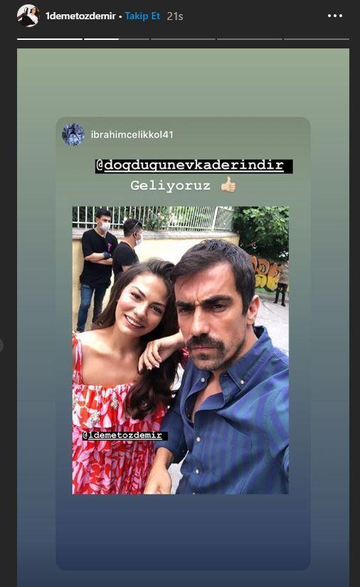 İbrahim Çelikkol ve Demet Özdemir'den dizi mesajı! - Sayfa:3