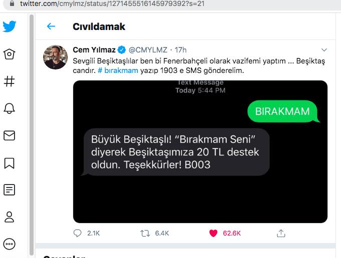 Haluk Levent'ten Beşiktaş'a konser desteği! - Sayfa:2