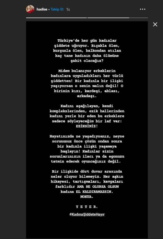 Ünlü isimlerden Ozan Güven'den şiddet gören Deniz Bulutsuz'a destek! - Sayfa:1