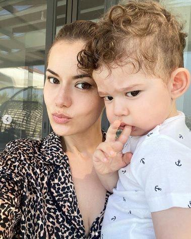 Fahriye Evcen'in oğluyla paylaşımına 2 milyon beğeni - Sayfa:2