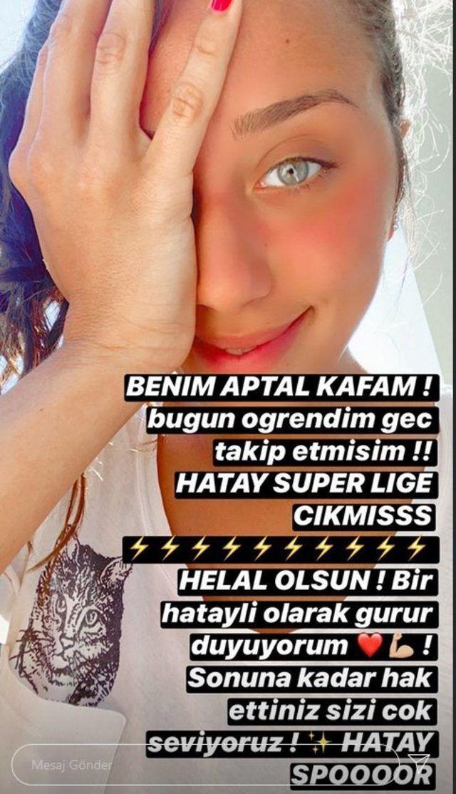 Zeynep Alkan'dan Hatayspor'a kutlama - Sayfa:4