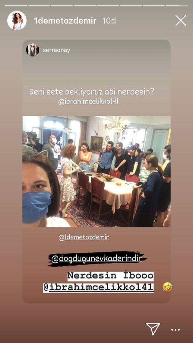 Demet Özdemir'den sette kriz haberlerine gönderme - Sayfa:4