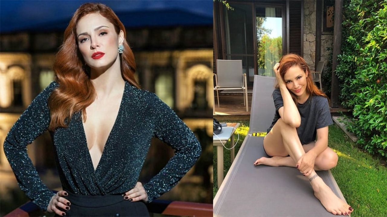 Mine Tugay'ın bikinili paylaşımına beğeni yağdı - Sayfa:1
