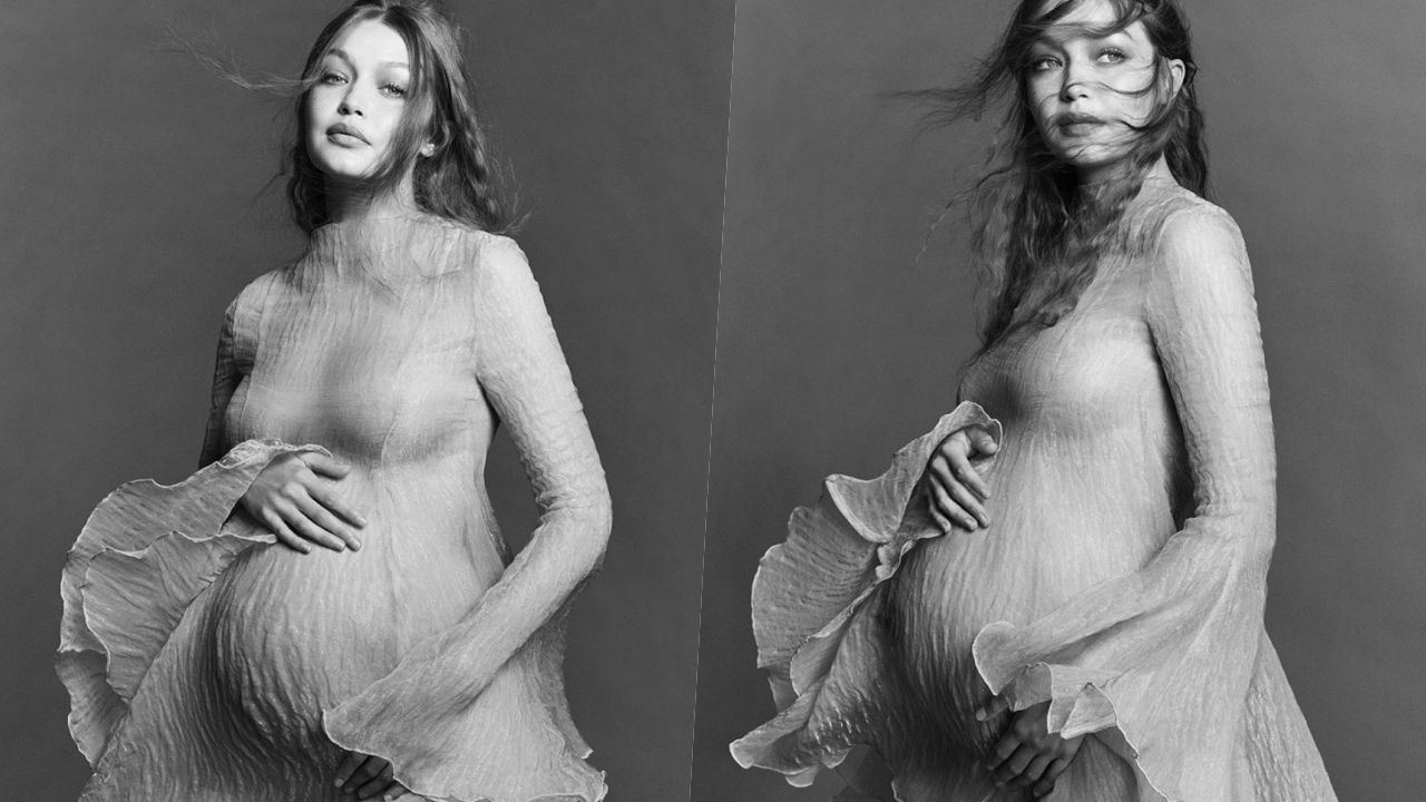 Gigi Hadid'den hamilelik pozları - Sayfa:1