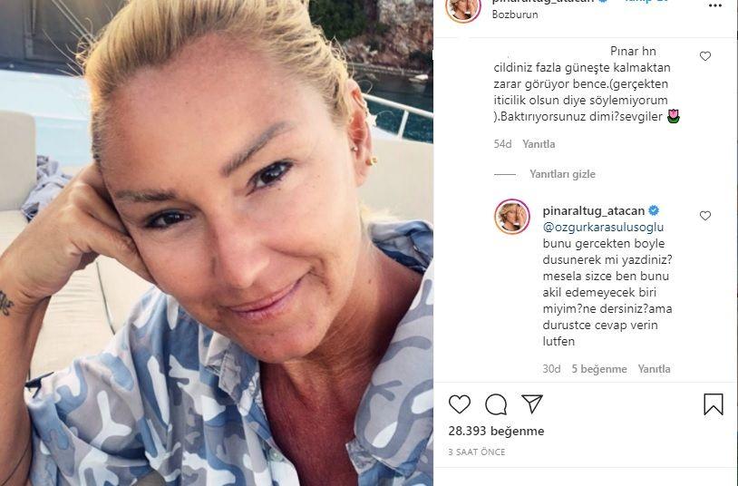 Pınar Altuğ'dan kızdıran yorumlara olay cevaplar - Sayfa:3