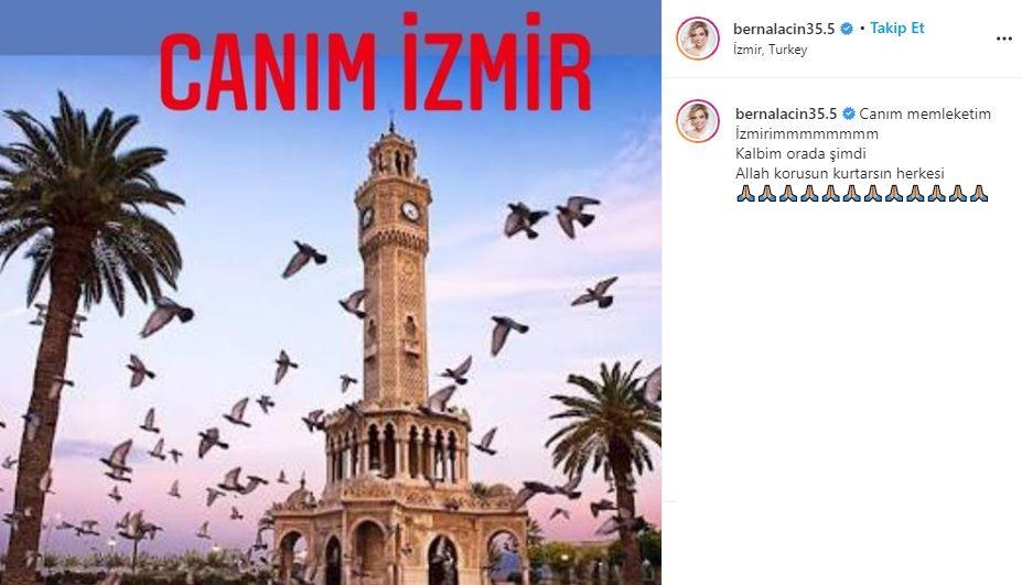 Ünlü isimlerden İzmir'e geçmiş olsun mesajları - Sayfa:7