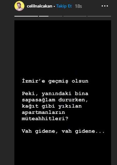 Ünlü isimlerden İzmir'e geçmiş olsun mesajları - Sayfa:9