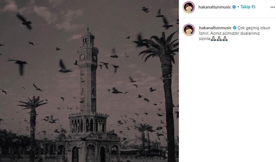 Ünlü isimlerden İzmir'e geçmiş olsun mesajları - Sayfa:13