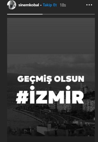Ünlü isimlerden İzmir'e geçmiş olsun mesajları - Sayfa:17