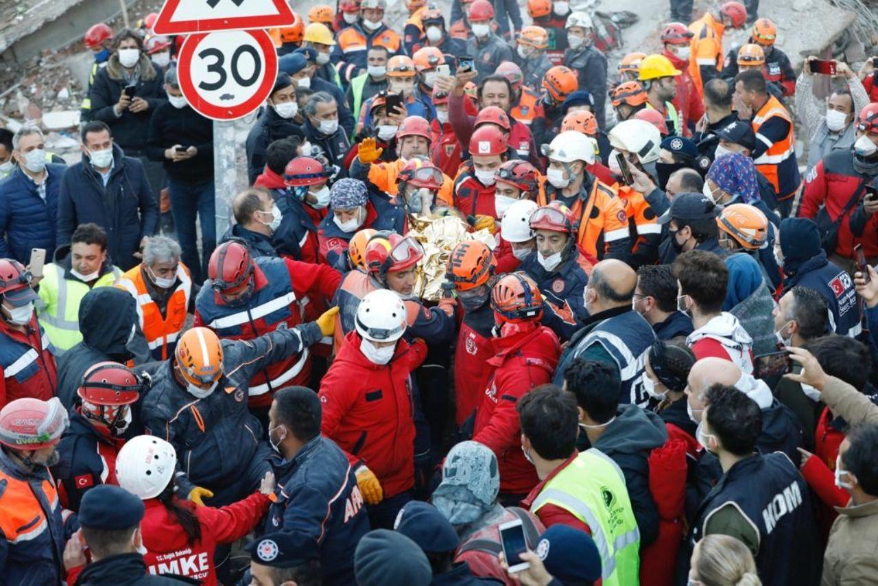 İzmir depreminde Elif mucizesi... 65 saat sonra kurtarıldı! - Sayfa:2