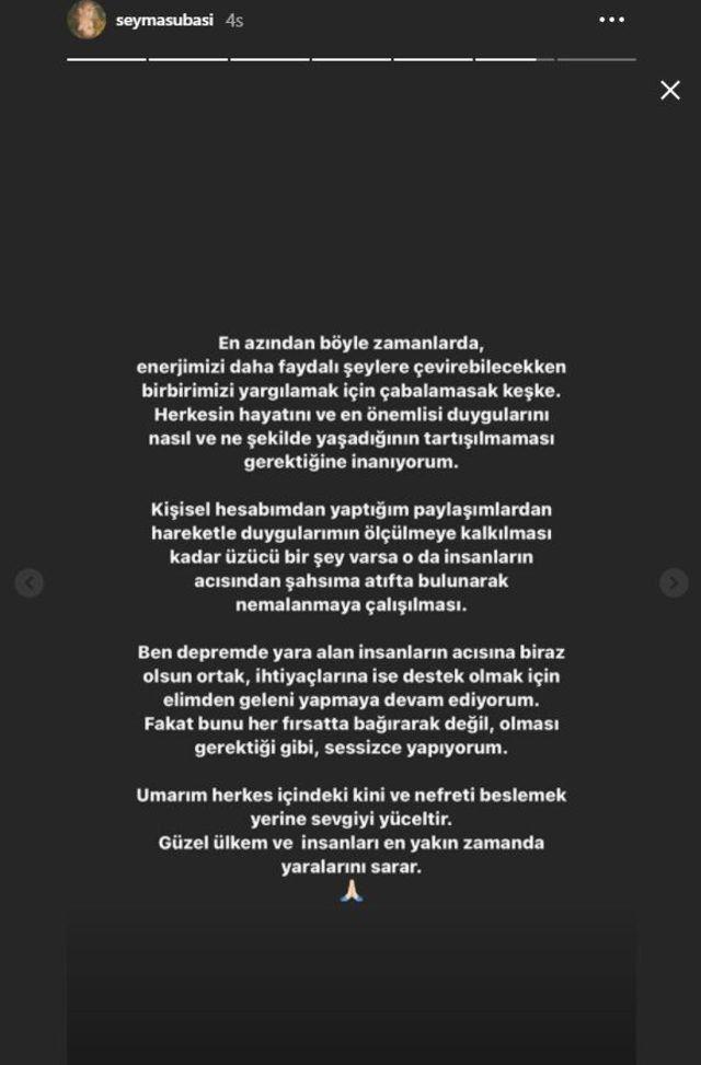 Şeyma Subaşı'ndan 'Cadılar Bayramı' açıklaması: 'Ben depremde yara alan insanların...' - Sayfa:4