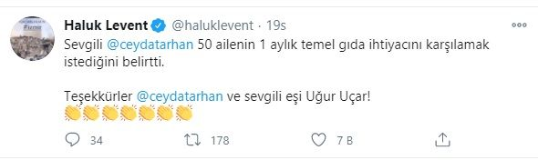 İzmir için hangi ünlü ne kadar bağışta bulundu? Haluk Levent açıkladı - Sayfa:4
