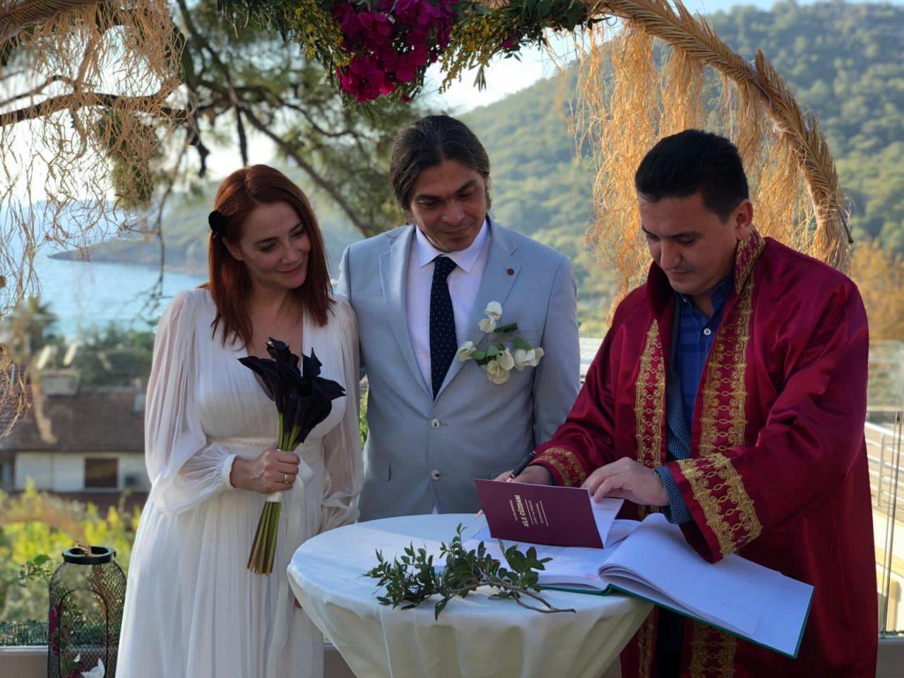 Aylin Aslım ile Utku Vargı evlendi - Sayfa:1