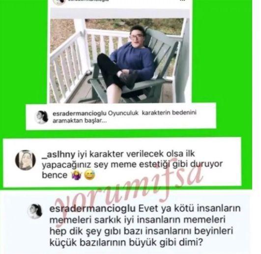 Esra Dermancıoğlu'ndan çirkin yoruma sert yanıt! Takipçisiyle arasında 'meme' polemiği - Sayfa:3