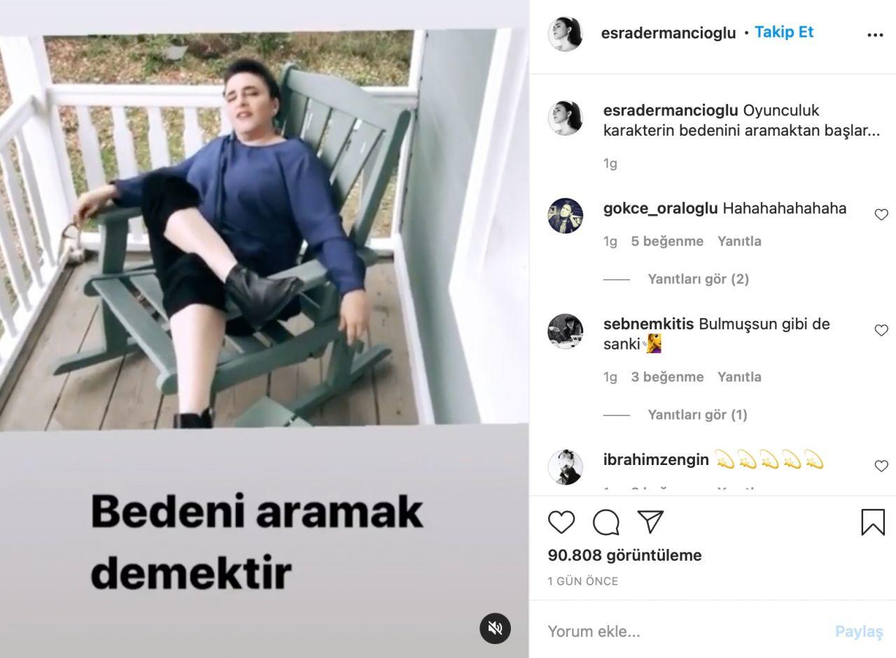Esra Dermancıoğlu'ndan çirkin yoruma sert yanıt! Takipçisiyle arasında 'meme' polemiği - Sayfa:2