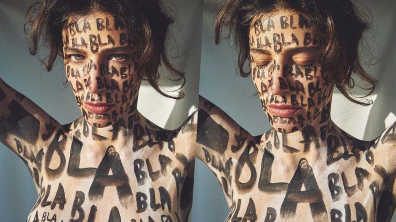 Berrak Tüzünataç'ın çok konuşulan fotoğraflarına 'Femen' benzetmesi - Sayfa:1