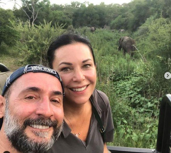 Ünlü çift Afrika'da safari yapıyor - Sayfa:2