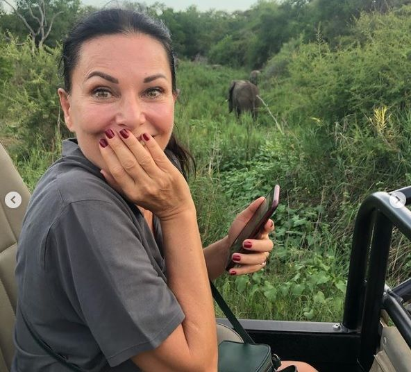 Ünlü çift Afrika'da safari yapıyor - Sayfa:3