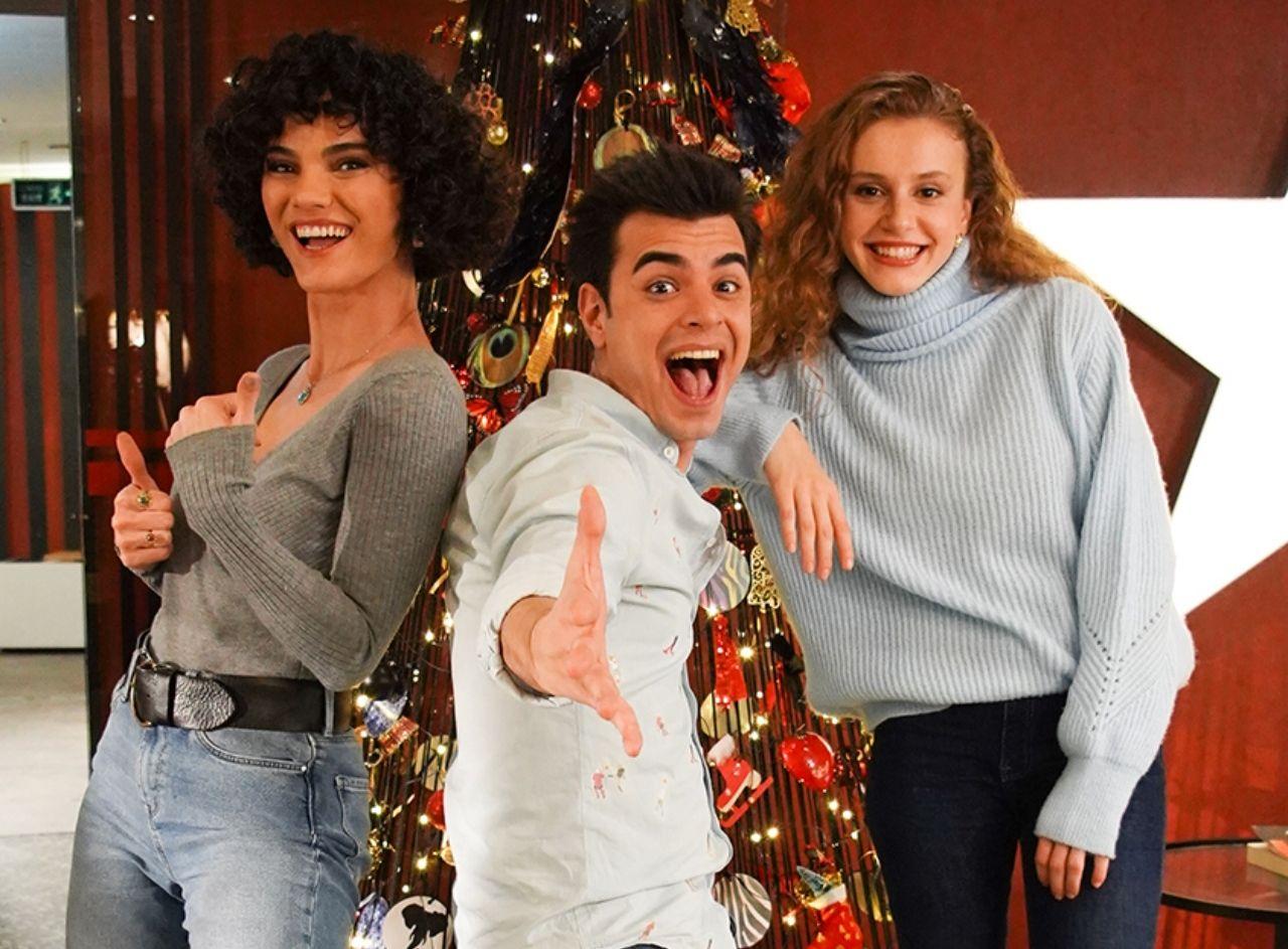 Menajerimi Ara dizisinde yeni yıl coşkusu - Sayfa:1