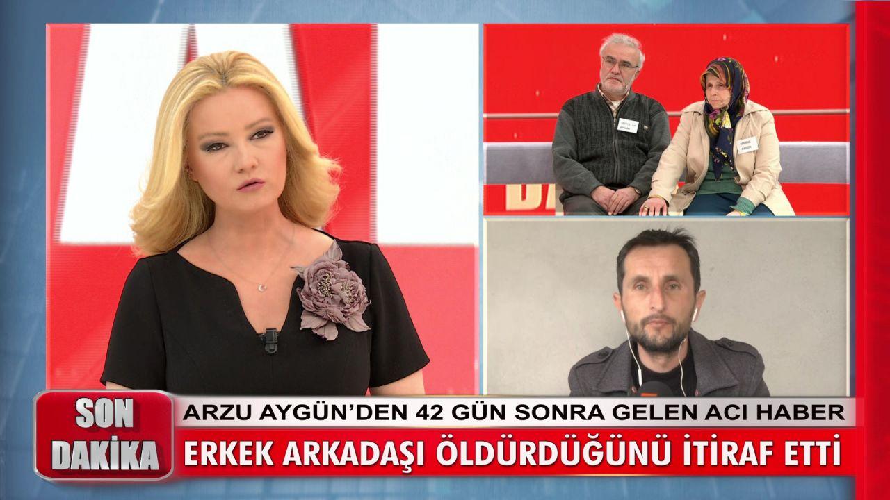 Müge Anlı yayınına katılmıştı... Arzu Aygün cinayetini itiraf etti! - Sayfa:1