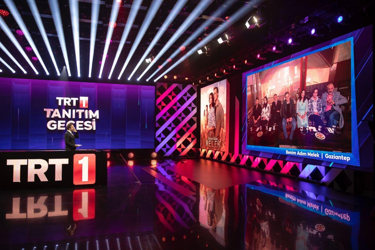 'TRT 1 Tanıtım Gecesi'nde değişim seyircinin beğenisine sunuldu - Sayfa:1
