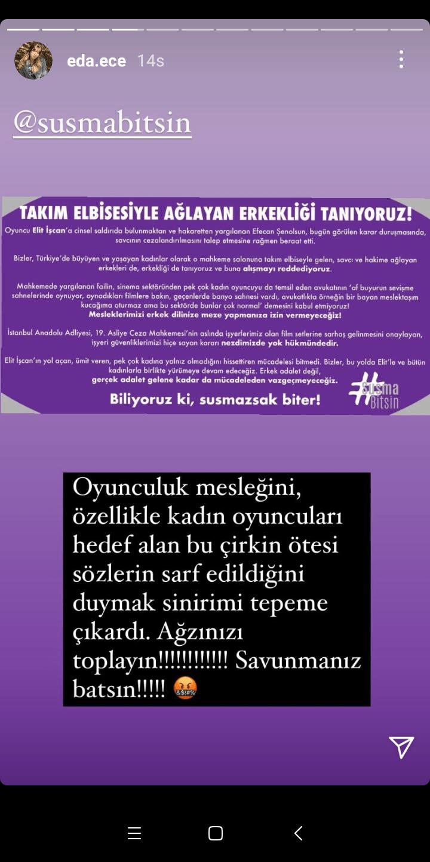 Eda Ece'den Efecan Şenolsun tepkisi! - Sayfa:6